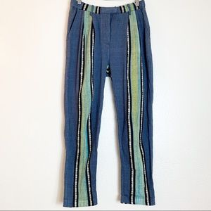 Free People Boho Striped Pants